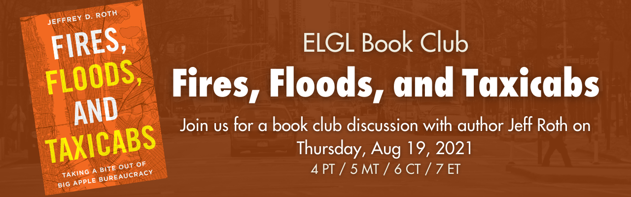 Fires, Floods, and Taxicabs Book Club Announcement