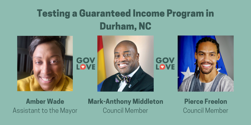 Durham Guaranteed Income - GovLove