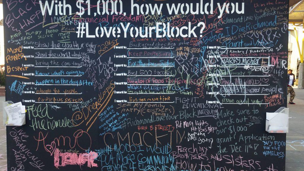LYB chalkboard