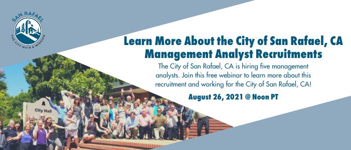 management analyst webinar