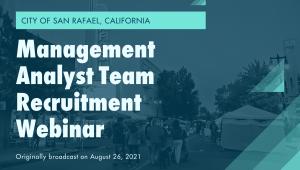 management analyst webinar video