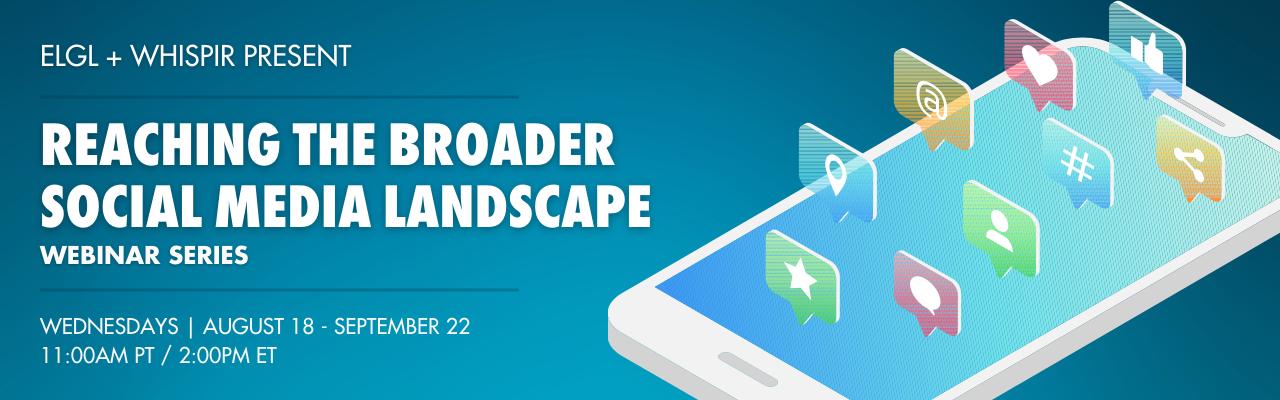 Reaching the broader social media landscape
