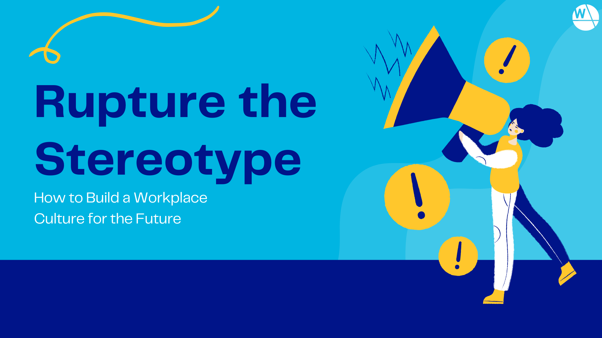 Rupture the Stereotype Title Slide