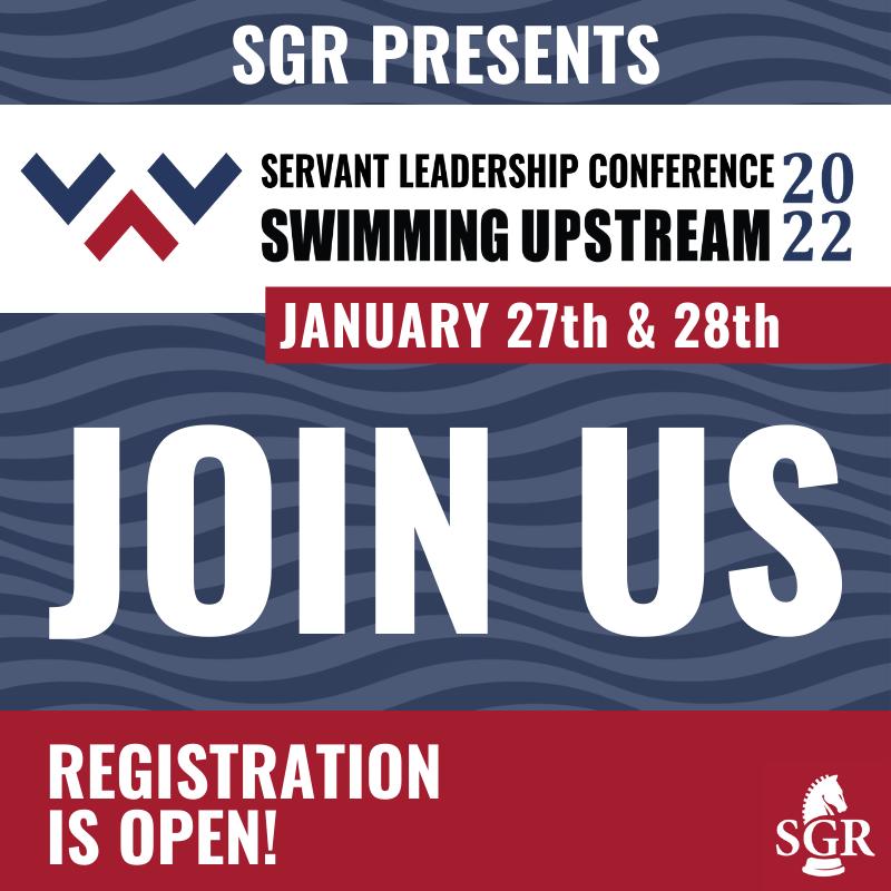 Servant Leadership Conference banner