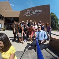 Ft. Collins City Hall Selfie Day