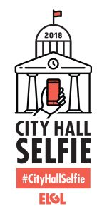 2018 CityHallSelfie logo