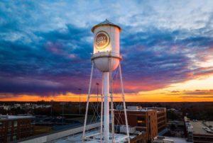 Lucky Tower Sunset