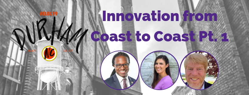 Innovation from Coast to Coast pt 1