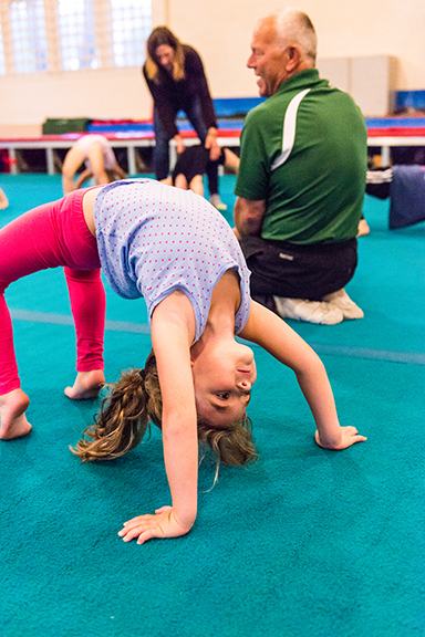 Gymnastics Back Bend