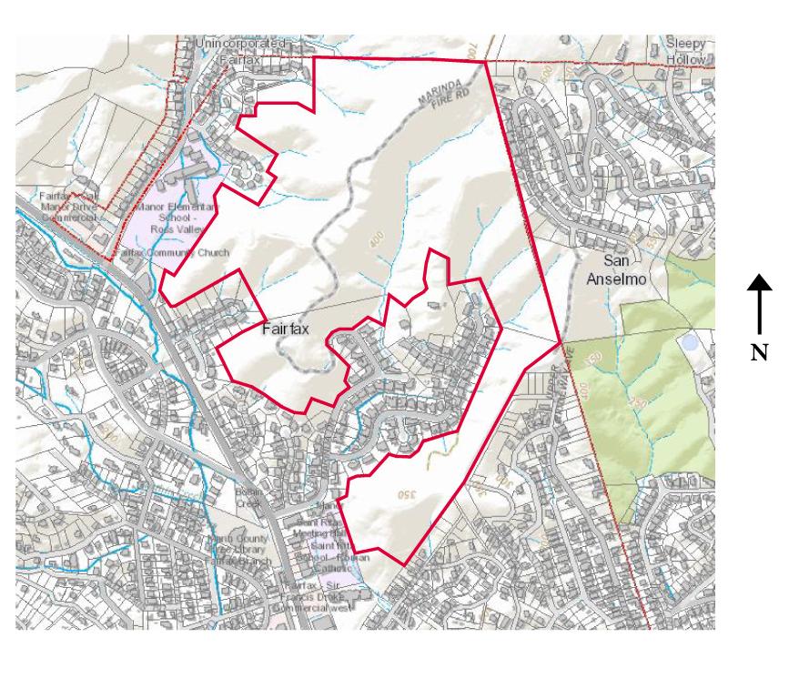 Marinda Heights Map