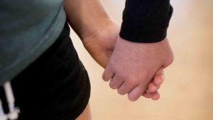Camp Fairfax - holding hands