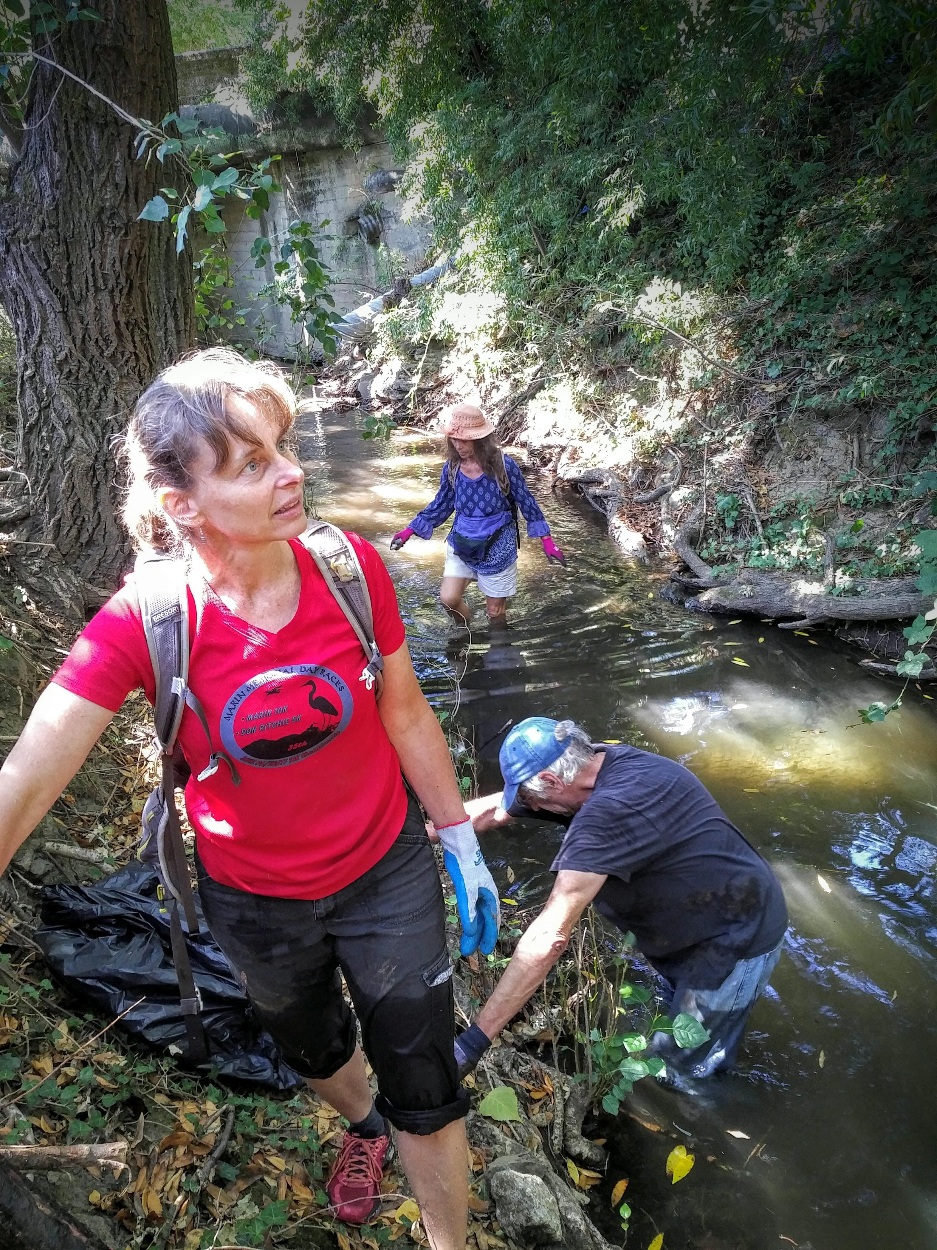 Creek Clean Up 3