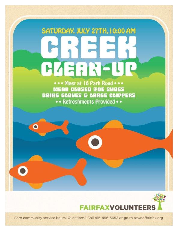 Creek Clean Up