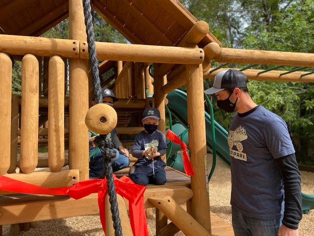 Peri Park Ribbon Cutting