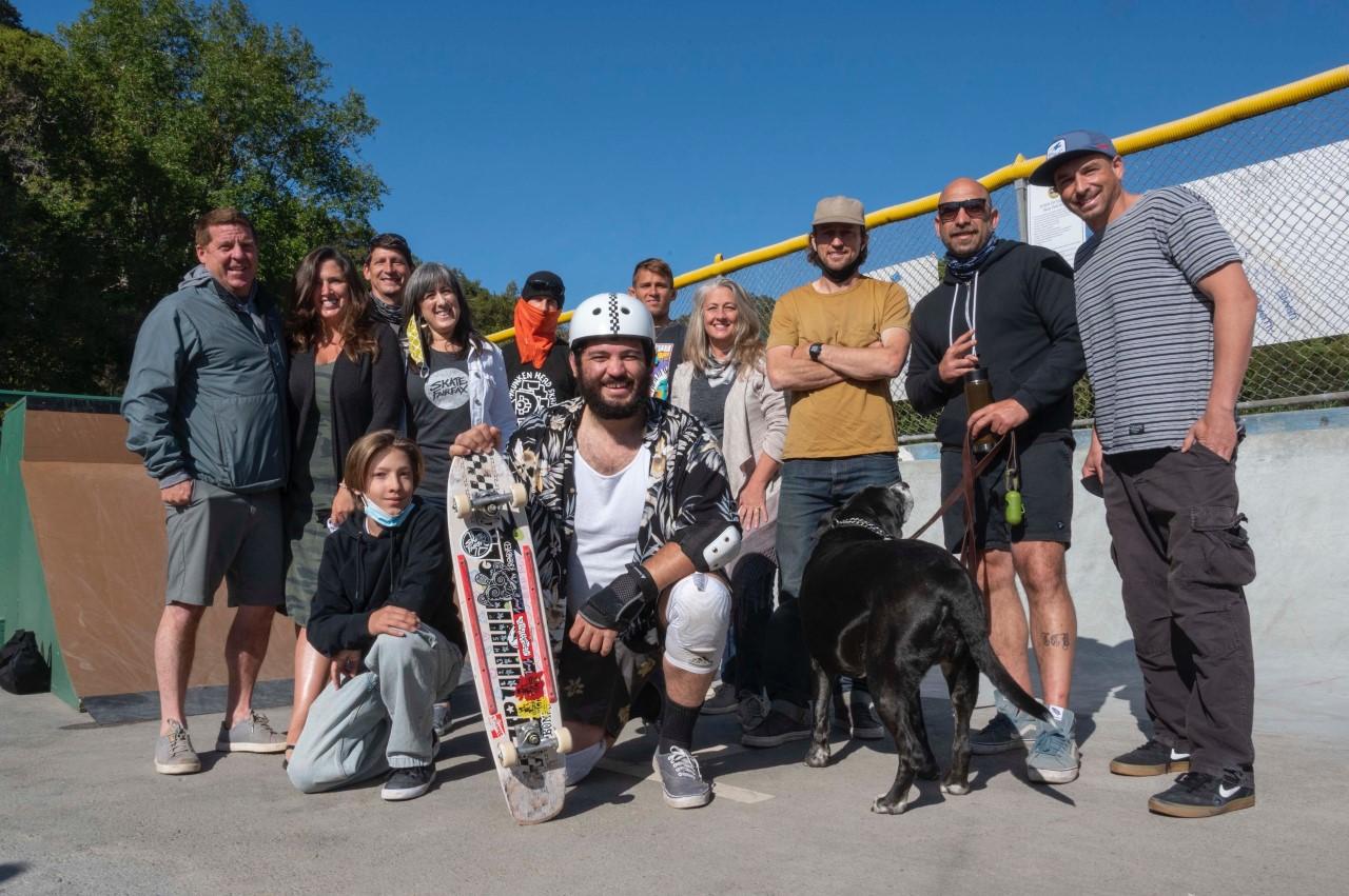 Fairfax Skate Park - group