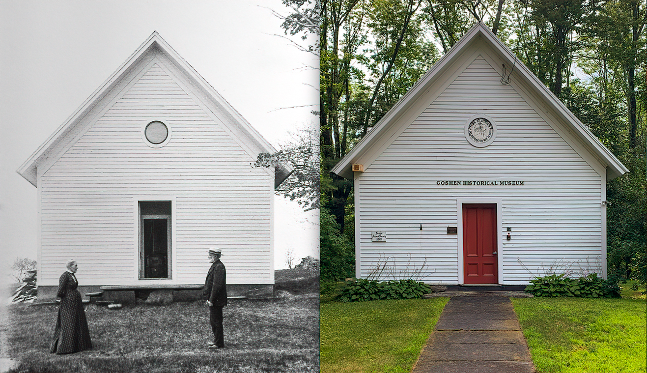 Goshen Historical Museum Then and Now