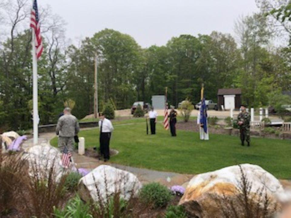 Chesterfield Veterans Park Memorial Day 2020