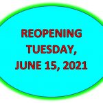 Town Facilities reopening