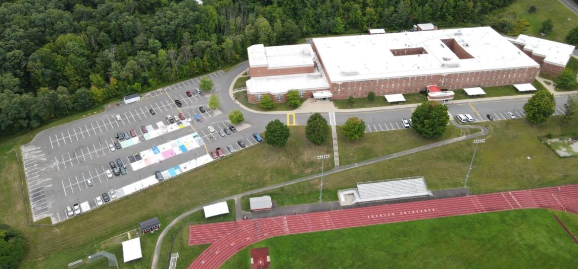 HRHS aerial view