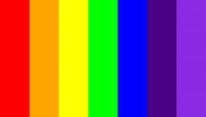 ROYGBIV colors