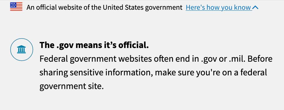 .gov domain
