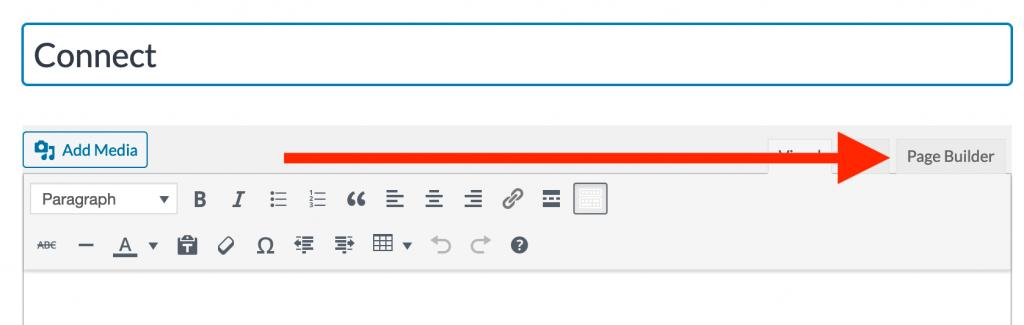 Pagebuilder option