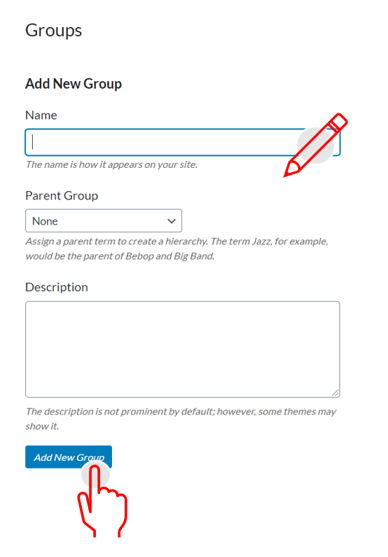 add group to contacts