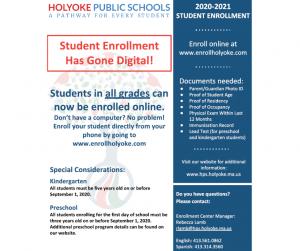 HPS Enrollment Flyer