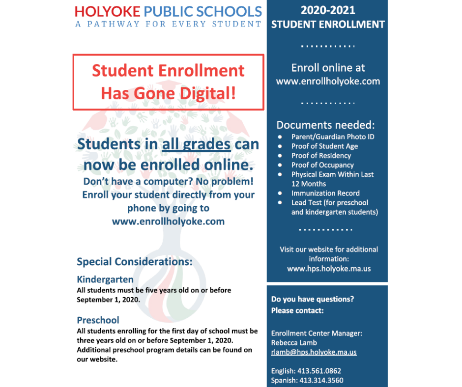 HPS Enrollment Flyer