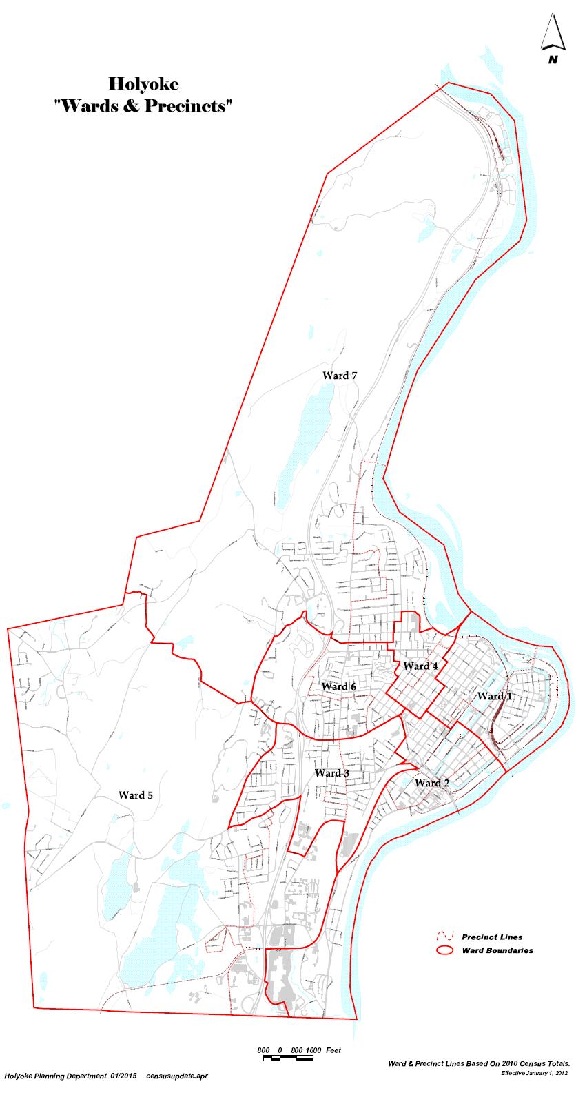City Ward Maps
