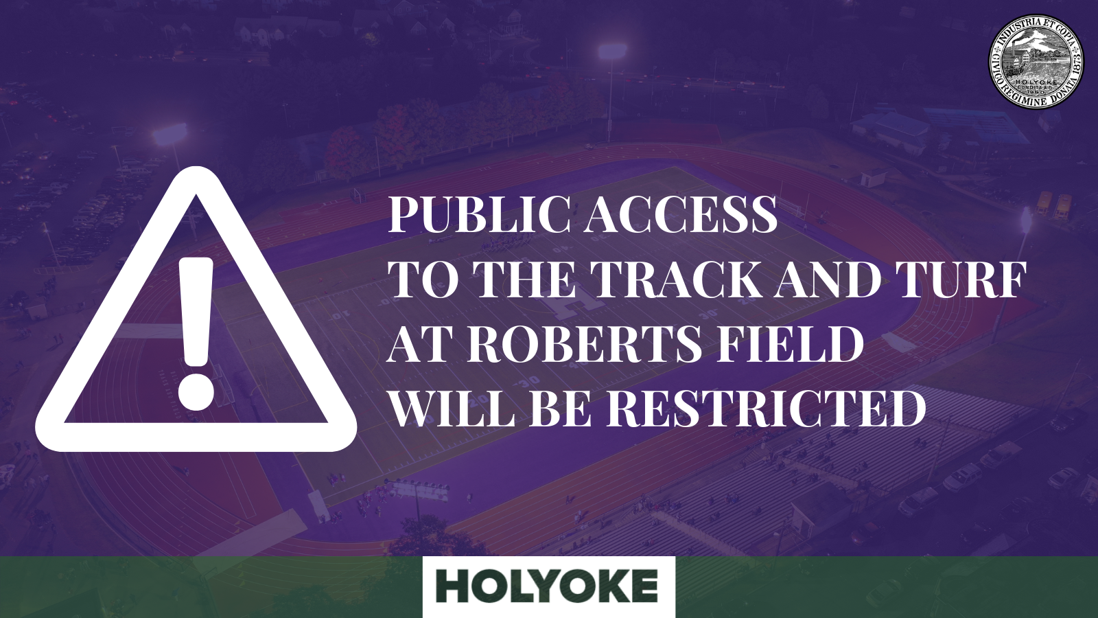 Track and Field Public Access Restriction