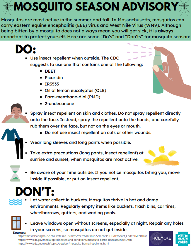 Mosquito English Advisory