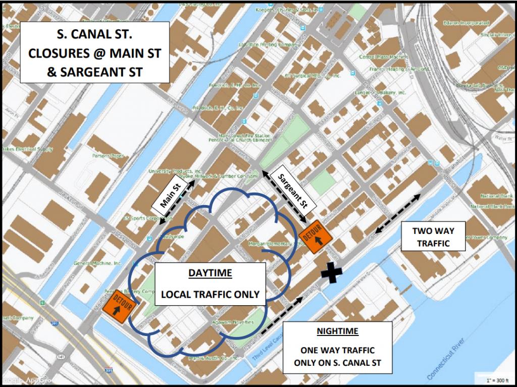 S. Canal Detour