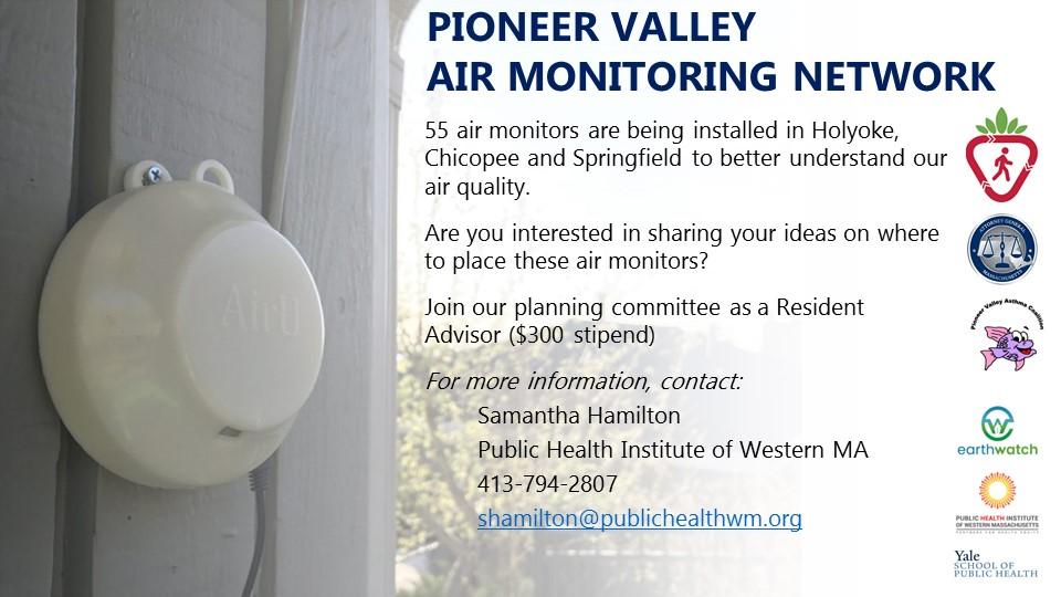 Pioneer Valley Air Monitoring Network