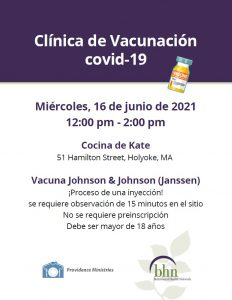 June 16 Vaccine Flyer Spanish