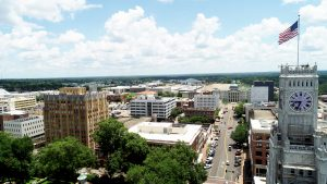 Downtown Jackson Aerial View