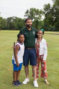Mayor and kids
