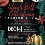 2019 COJ Sleigh Bell Fashion Show Flyer