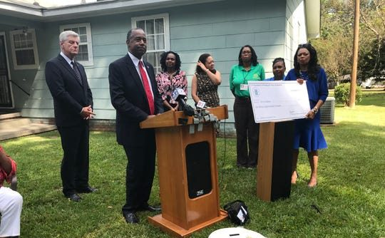 Ben Carson Delivers a $1.8 Million Grant for Lead Remediation Program to the City of Jackson