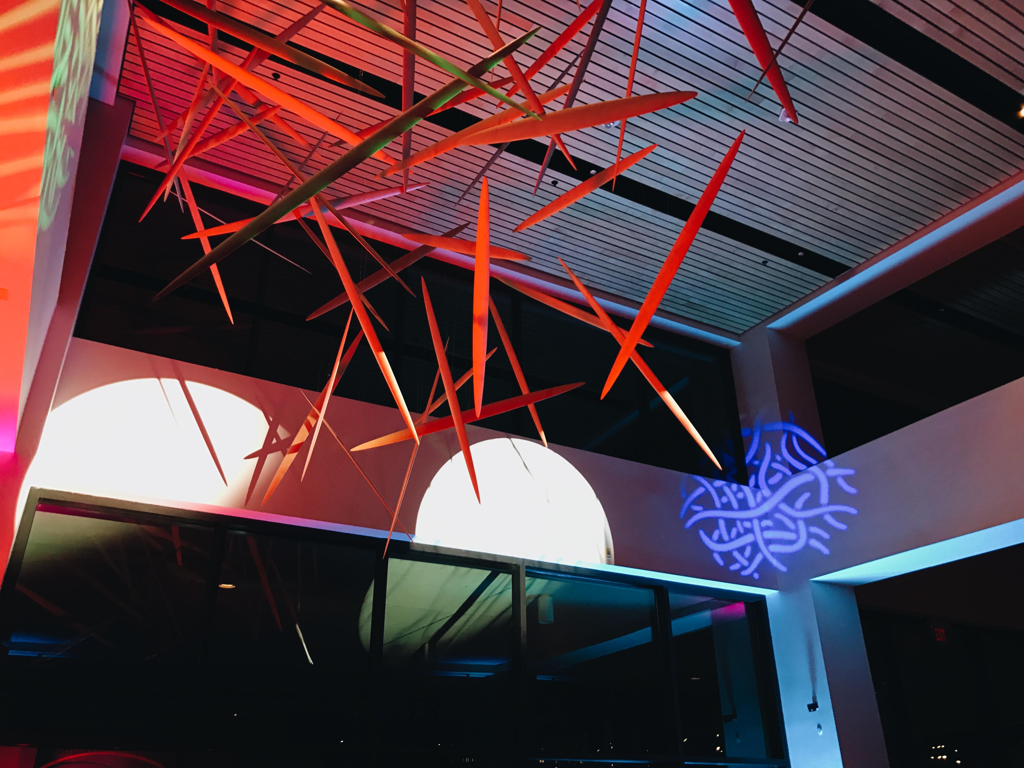 Planetarium public art installation