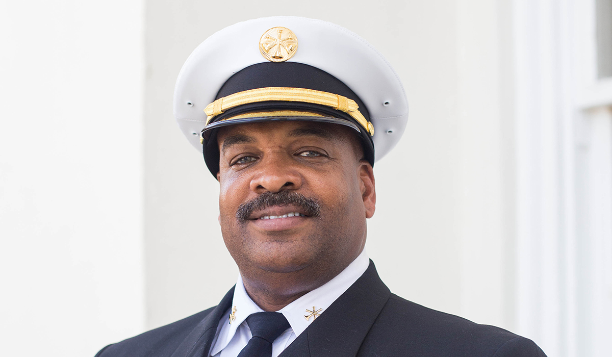 Malcolm Alexander, Division Fire Chief
