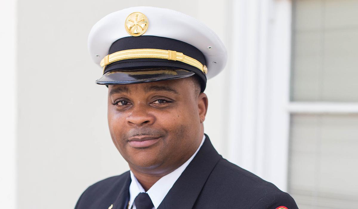 Carlos Jones, Division Fire Chief