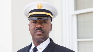 Cleotha Sanders, Division Fire Chief