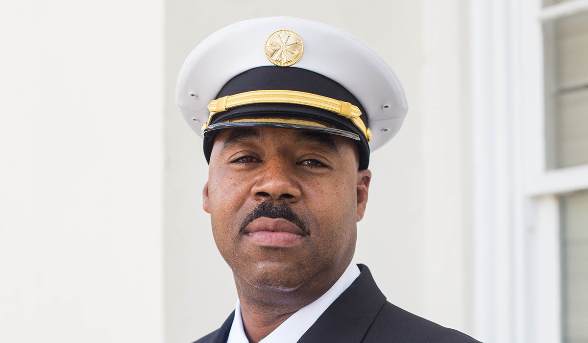 Patrick Armon, Assistant Fire Chief