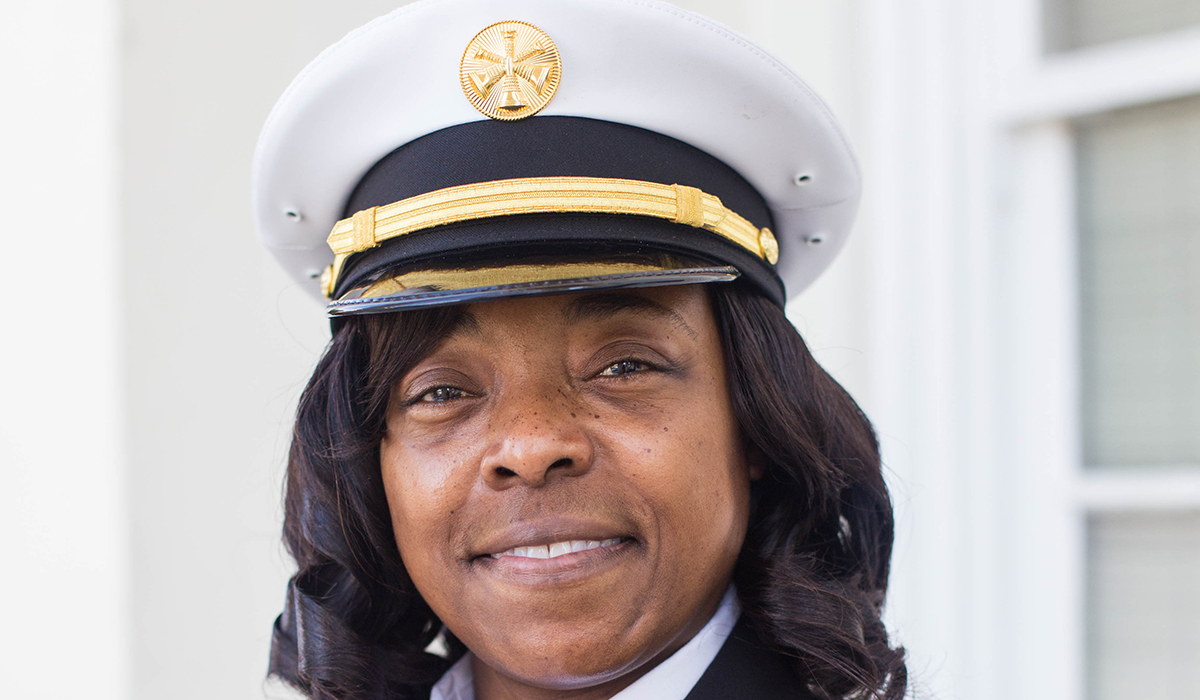 Carmen Brooks, Division Fire Chief