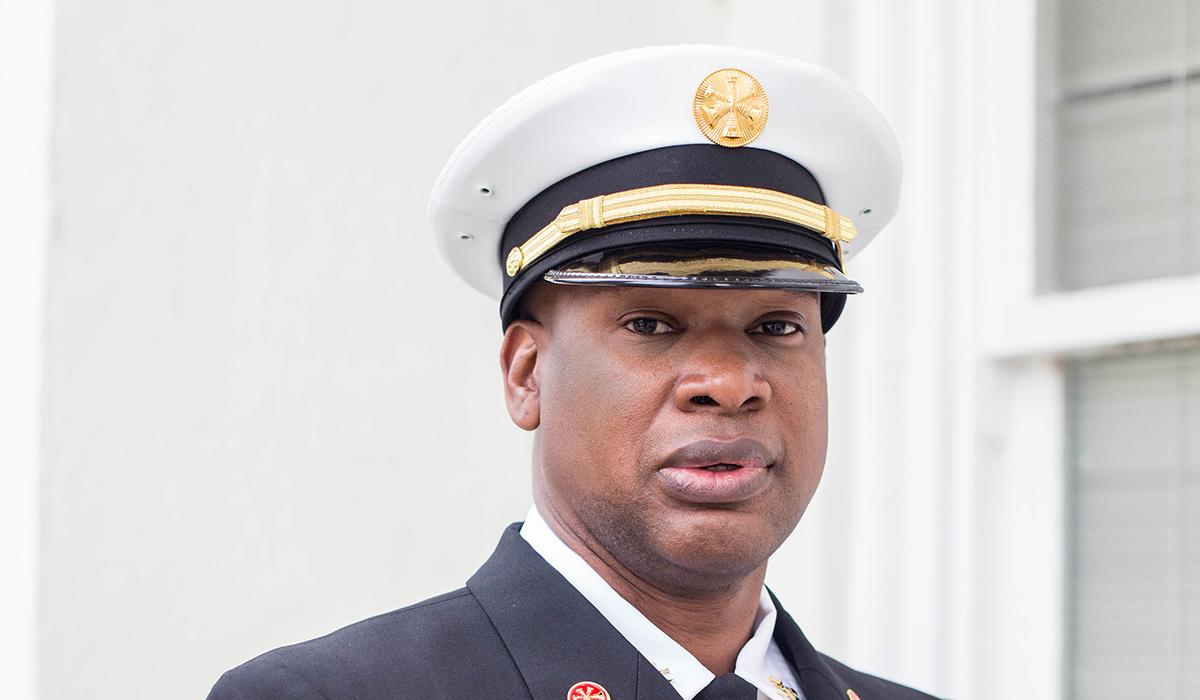 Elliott Holmes, Division Fire Marshall