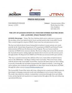 Jtran Press Release