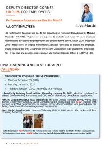 Page 4 Employee Newsletter Dec 2020