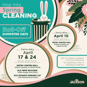 Hop into spring cleaning