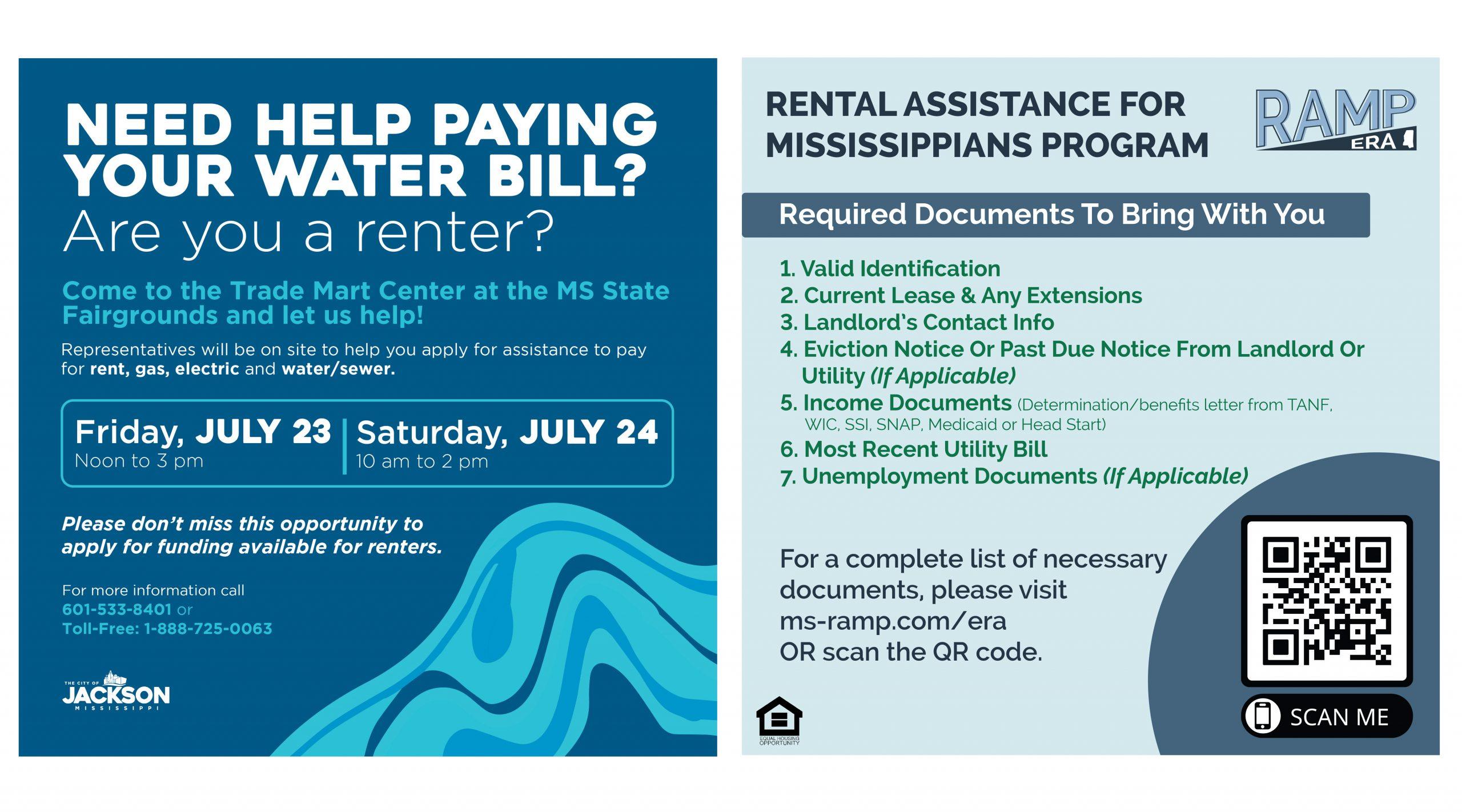 Water Assistance COJ